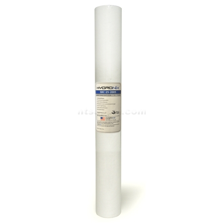 "Hydronix  20"" Bonded Depth Sediment Cartridge - 5 micron"