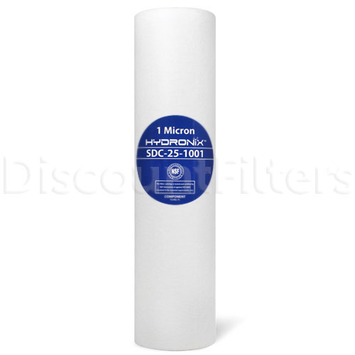 "Hydronix 10"" Sediment Depth Cartridge 1 micron"