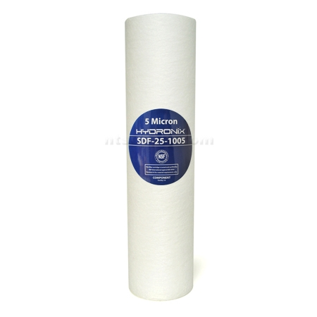 "Hydronix 10"" Sediment Depth  Filter 5 micron"