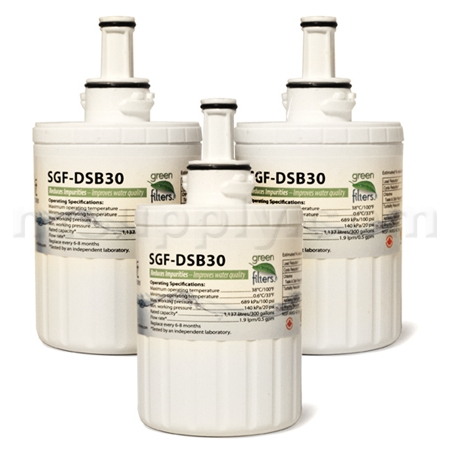 Swift Green Replacement for Samsung DA29-00003G Refrigerator Filter, 3-Pack