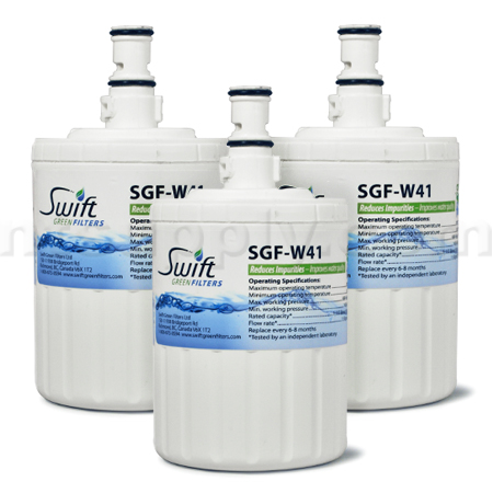 Swift Green Replacement for Whirlpool 8171414 Refrigerator Filter, 3-Pack