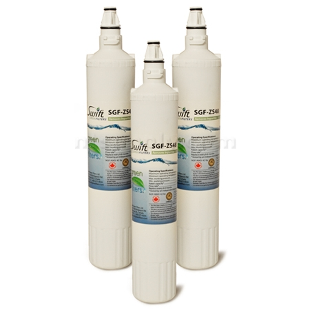 Swift Green Replacement for Sub-Zero 4204490 Refrigerator Filter, 3-Pack