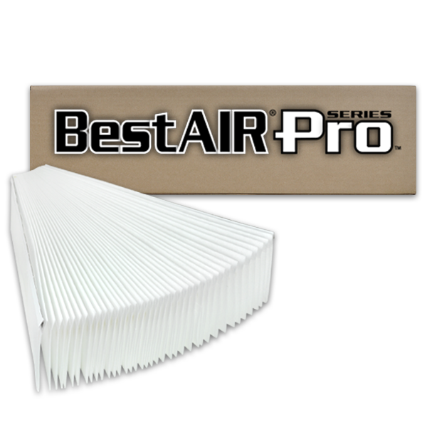 BestAirPro Replacement for Aprilaire # 401 Filter, 2-Pack