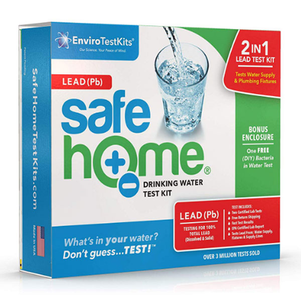 Safe Home® Lead Water Test Kit