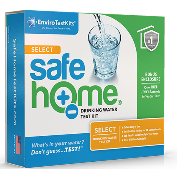 Safe Home® Select Water Test Kit