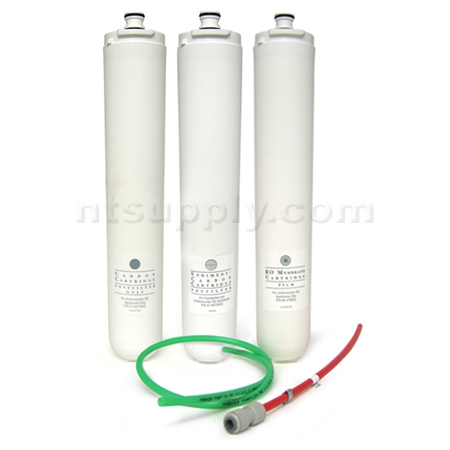 WATER FACTORY SYSTEMS SQC  R.O. Pre & Post Filters w/ Membrane SET