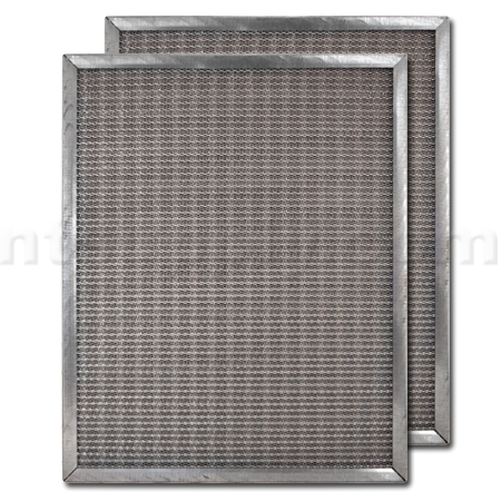 "16"" X 25"" X 1"" Galvanized Steel Air Filter"