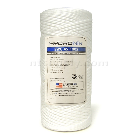 "Hydronix  10"" BIG BLUE String Wound Sediment Cartridge  5 micron"