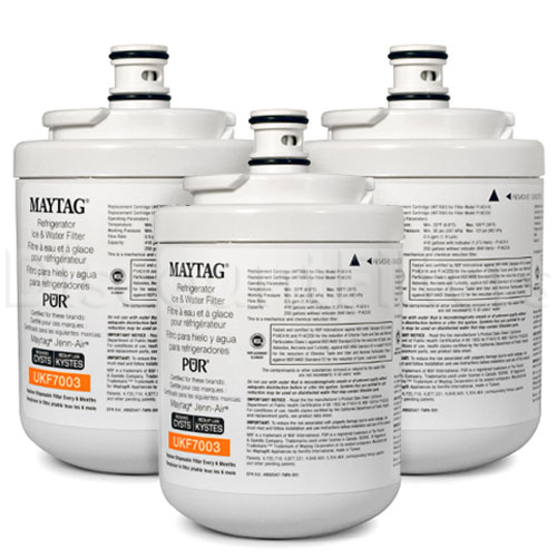 Maytag Pur Refrigerator Water Filter (UKF7003), 3-Pack