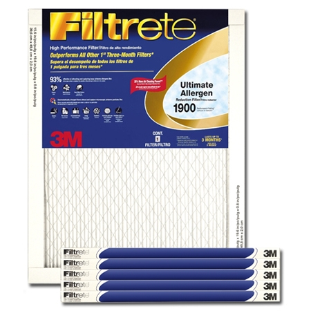 14 x 24 x 1 Filtrete Ultimate Allergen Reduction Filter - UA23DC-6