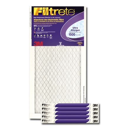 14 x 25 x 1 Filtrete Ultra Allergen Reduction Filter - #2004