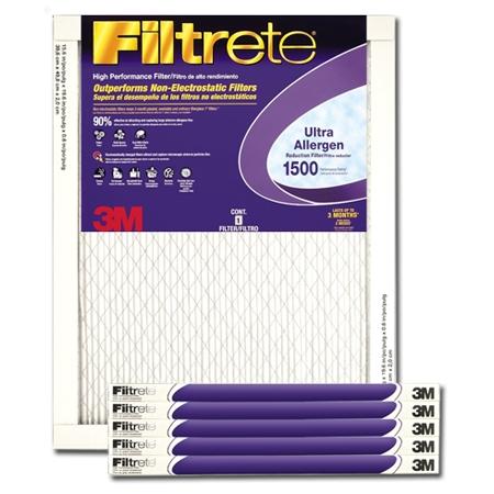 16 x 24 x 1 Filtrete Ultra Allergen Reduction Filter - #2025