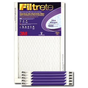 12 x 20 x 1 Filtrete Ultra Allergen Reduction Filter  - #2019