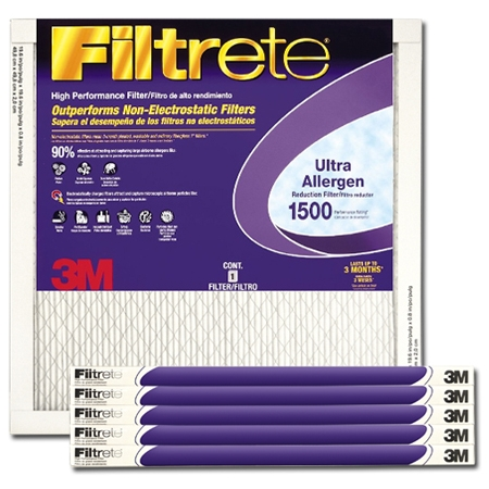 23 1/2 x 23 1/2 x 1 Filtrete Ultra Allergen Reduction Filter - #2030