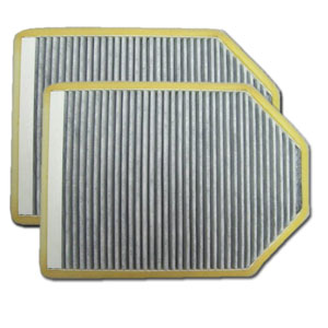 VW94157C micronAir Carbon Cabin Air Filter, 2-Pack