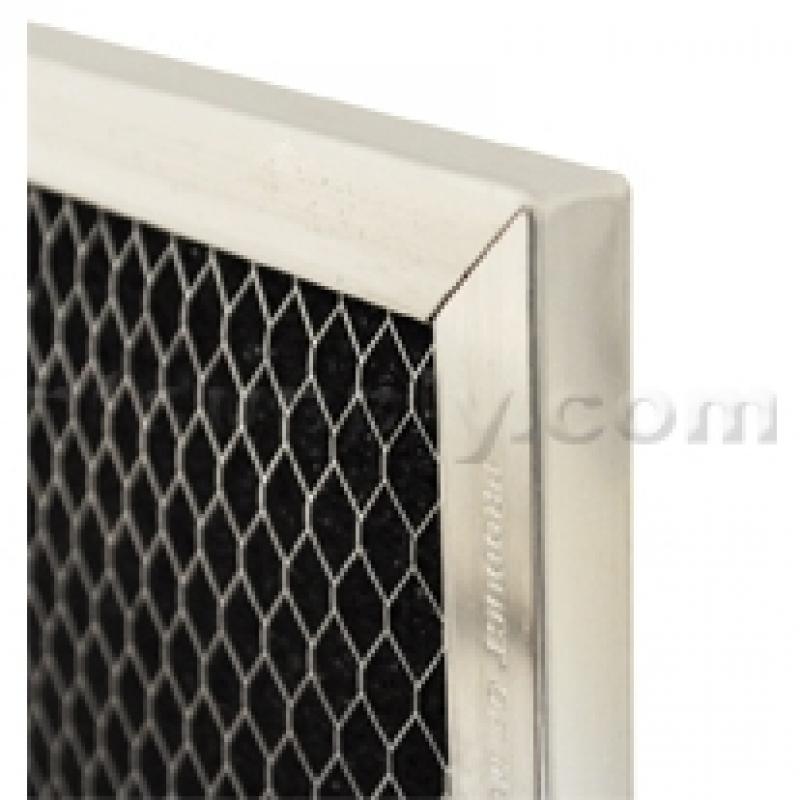 WB02X10776 4-7//8 X 7-3//4 X 3//8 GE Carbon Range Hood Filter
