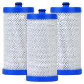 EcoAqua replacement refrigerator filter for model: WFCB-EFF