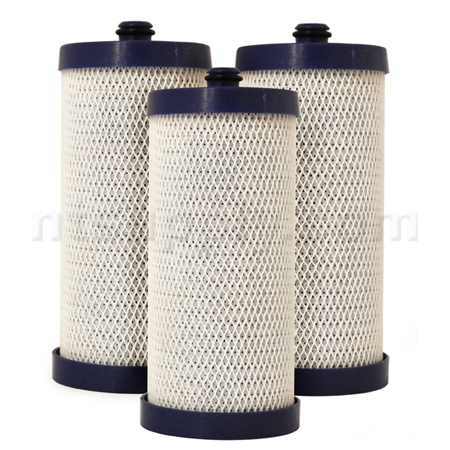 EcoAqua Replacement for Frigidaire Filter (RC200/WFCB, RG100/WF1CB), 3-Pack