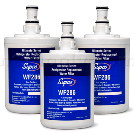Supco Replacement for Whirlpool 8171413/NL200 Filter, 3-pack