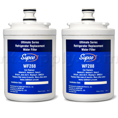 Supco Replacement for Maytag UKF7003AXX Filter, 2-Pack