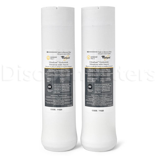 Whirlpool WHEEDF Filter Set