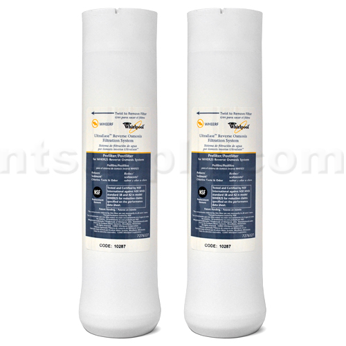 WHIRLPOOL WHER25 - KENMORE UltraFilter 450 / 650 R.O. Pre & Post Filter