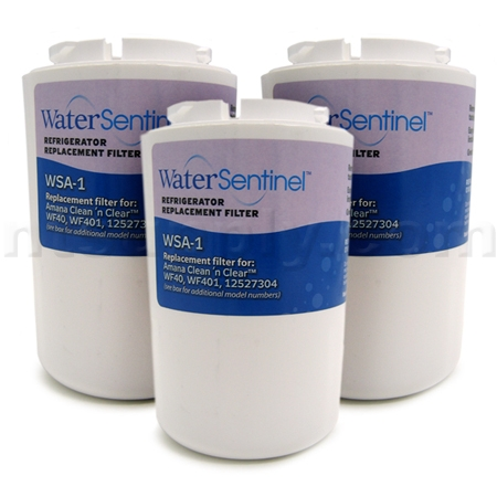 WaterSentinel Replacement for Maytag Clean 'n Clear Filter (WSA-1), 3-Pack