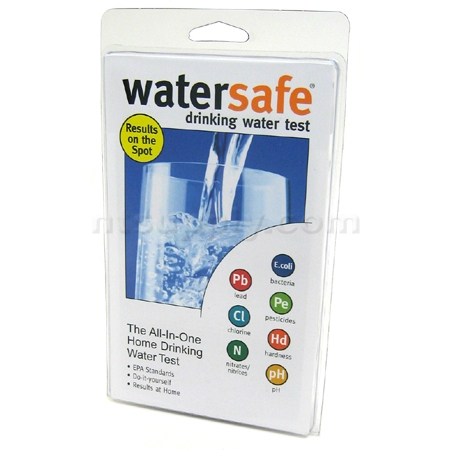 WaterSafe All-In-One Home Drinking Water Test Kit