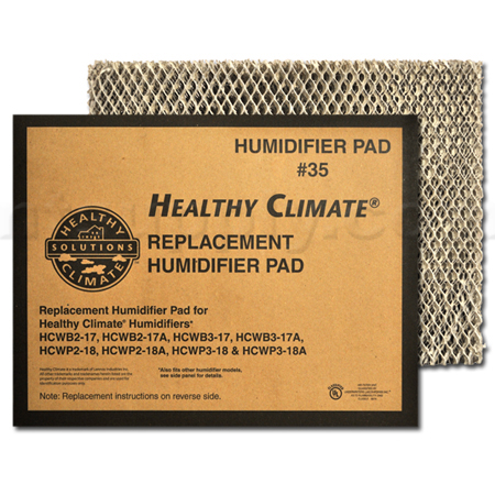 Lennox Healthy Climate #35 Water Panel Evaporator - # X2661, 2-Pack
