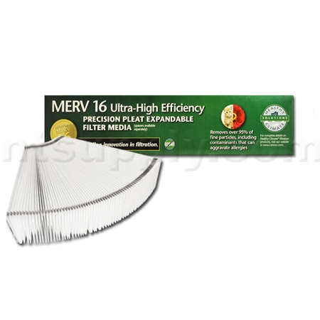 Lennox X8313 Expandable MERV 16 Replacement Filter - 20x25x5