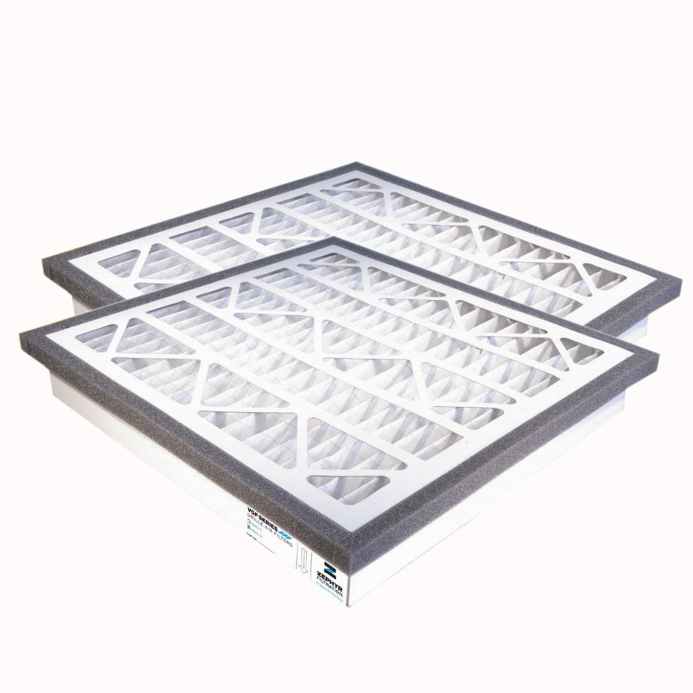 14x24x3 MERV 13 Return Grille Filter, 2-Pack