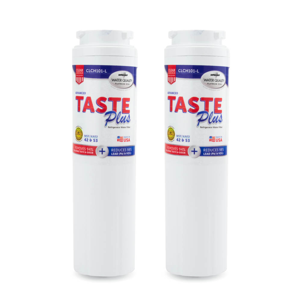 ClearChoice Taste Plus Replacement for Maytag UKF8001 Filter, 2-Pack