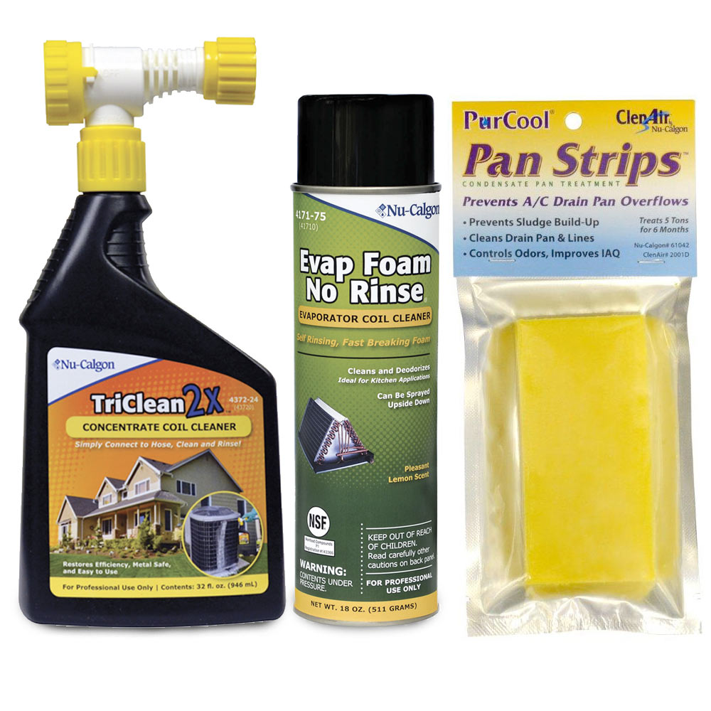 HVAC System Cleaning Tune-Up Kit