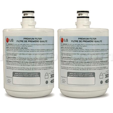 LG Refrigerator Water Filter (5231JA2002A, LT500P), 3-Pack